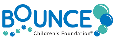 Bounce Children's Foundation logo.