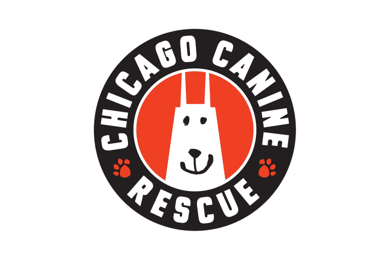 Chicago Canine Rescue logo.